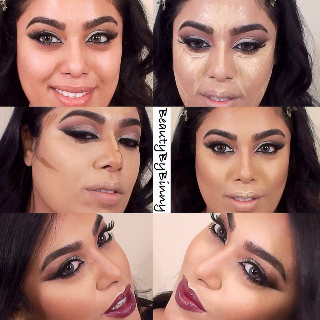 FOUNDATION CONTOUR AND HIGHLIGHT TUTORIAL U2013 L.A. Girl Cosmetics Pro Concealers | BINNY KHAN
