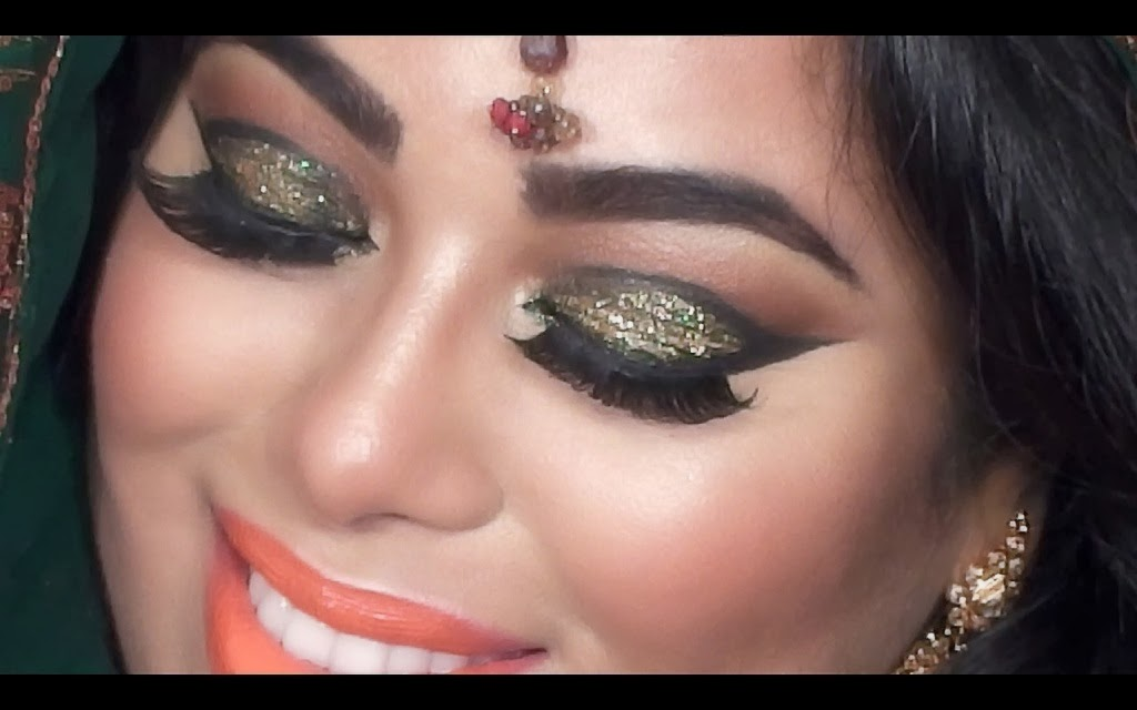 I love incorporating glitter into my makeup tutorials. Sorry about my eyes being a little red towards the end of the video. I just have to accept the fact ...