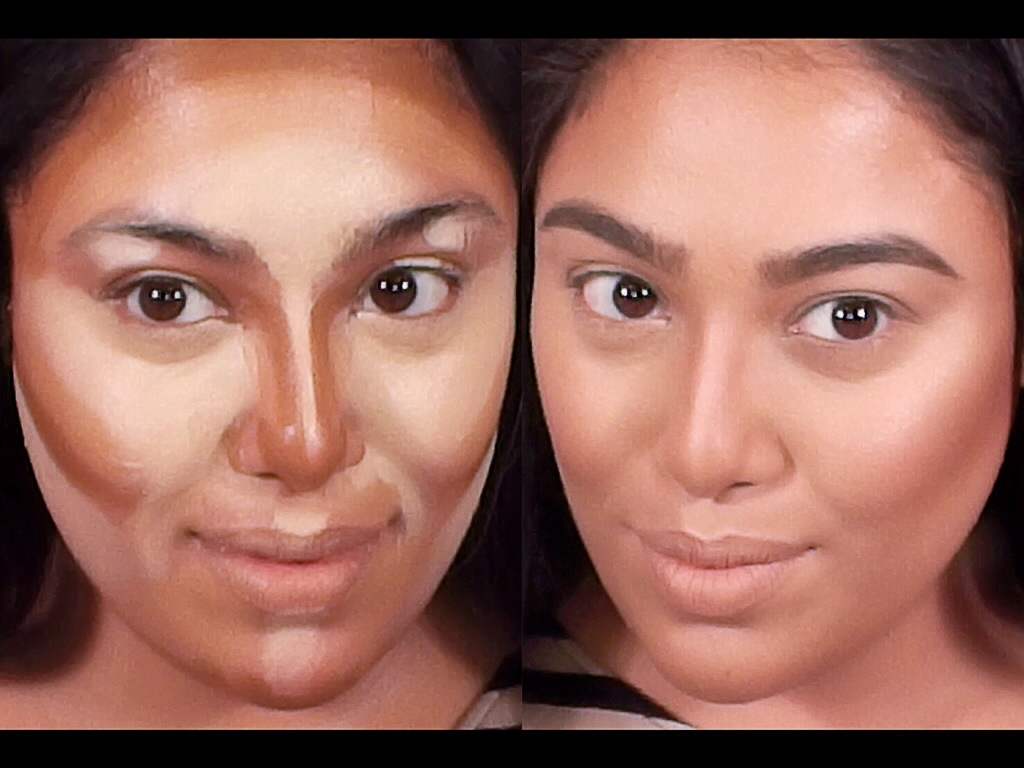 Foundation contour and highlight makeup tutorial binny khan contouring and highlighting is the celebrity makeup artists secrets to glowing skin high cheekbones and a chiseled nose celebrities like kim kardashian baditri Images